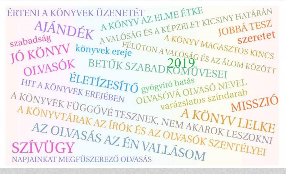 olvasással kapcsolatos idézetek Idézetek az olvasásról   a HUNRA 2019 es asztali naptárához